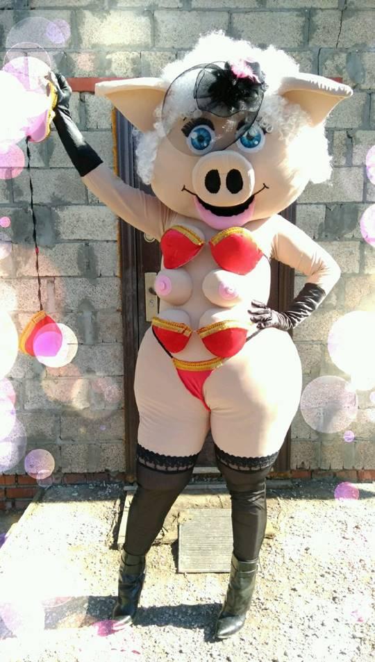 Сексуальная свинка