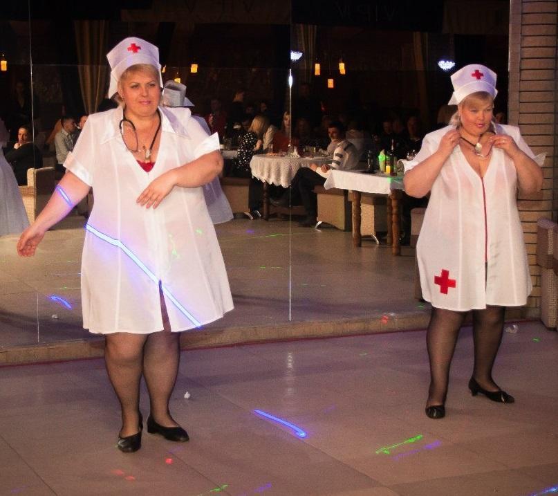 Эротические танцы толстушек